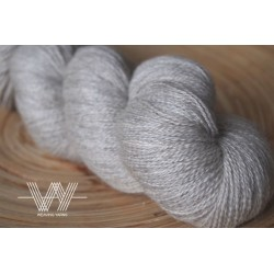 Grey Baby Alpaca / Silk /...